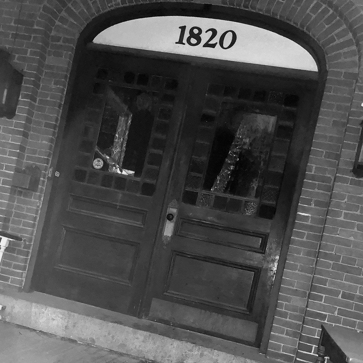 Rowell's Inn Historic Front Door