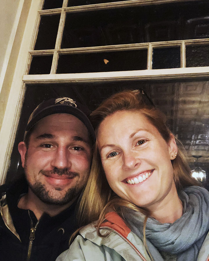 Jared and Christina Smith