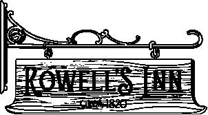 Rowell's Inn Vermont Logo
