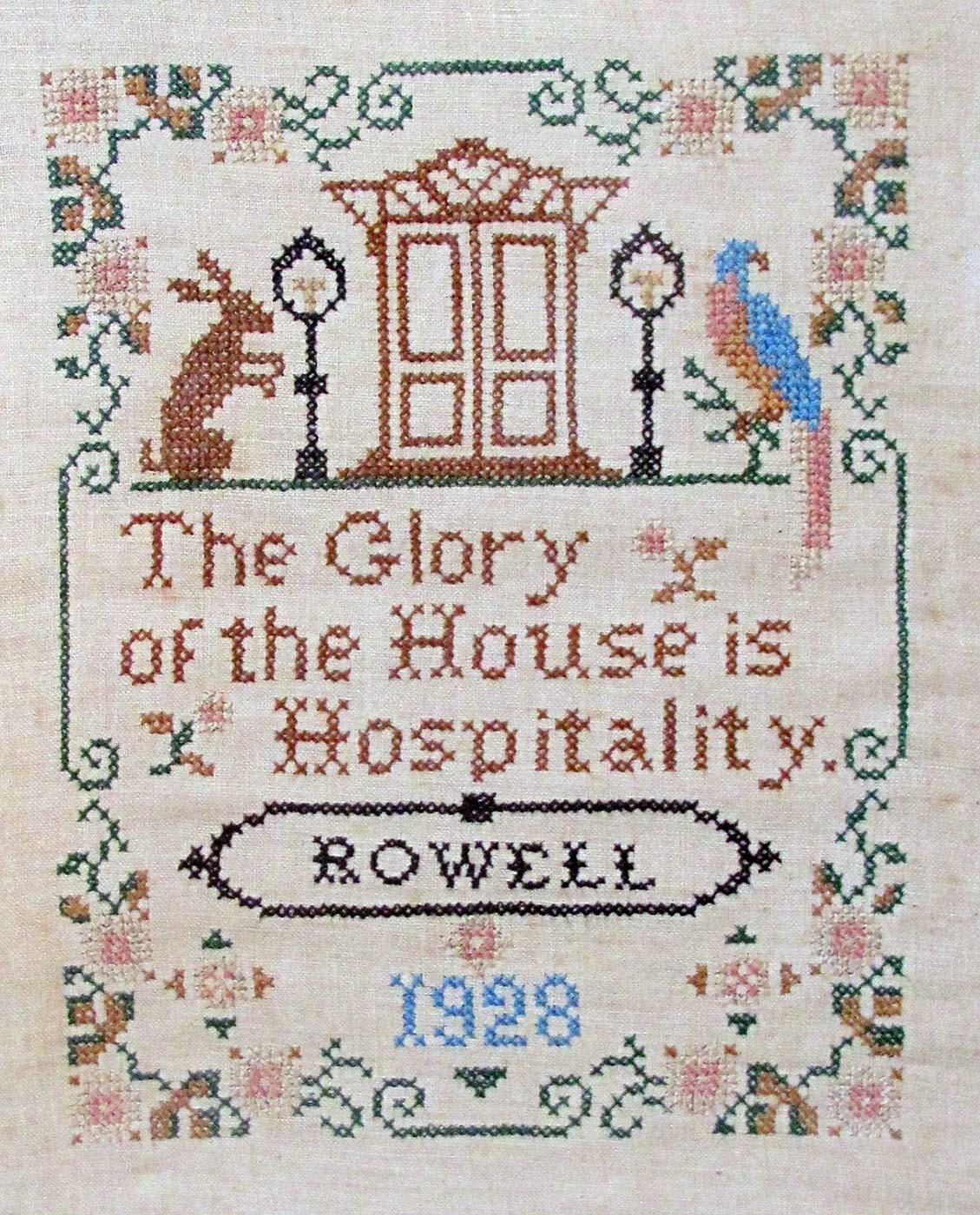 Needlepoint - Rowell's Inn Historic Photo