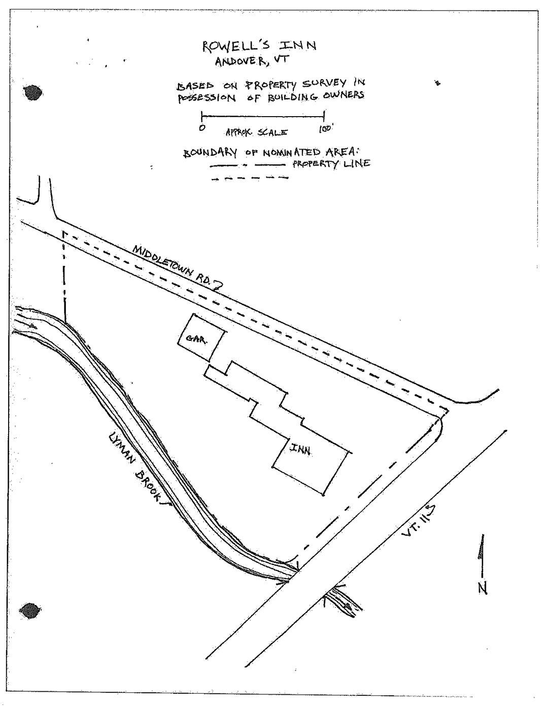 Rowell's Inn Historic Designation