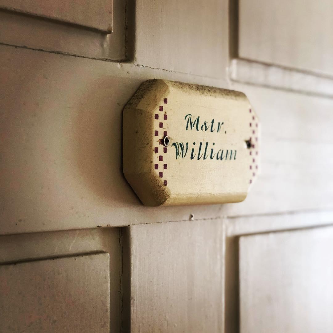 Master William Room door